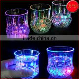 flashing led cup led mug water activated LED cups magic cup for halloweens