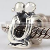 925 silver custom boy and girl charm