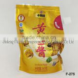 soybean paste packaging bag with screw spout