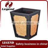Recycle and green wastebasket sanitary bin