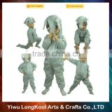 Wholesale High quality kids party perform animal costume elephant mascot costume