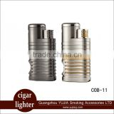 cigar lighter wholesales cohiba cigar accessories durable four Flame Cigar torch lighter