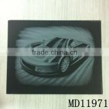 Car Print Engraving card/Scratch art foil paper/foil card/Scratch foil paper engraving art quilling art paper