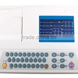 MC-ECG-3303W 5'' Color LCD Screen 12 Leads 3 Channels ECG Machine