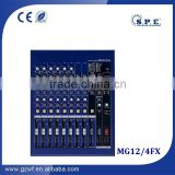 spe audio mg12-4fx yamaha copy 12 channel 4 group power audio sound mixer