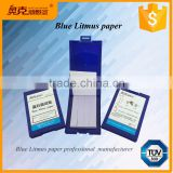 Universal neutral test strips blue litmus ph test paper