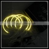 127.5mm 159mm x5 e53 angel eyes headlights yellow amber ccfl led angel eyes ring for bmw x5 e53