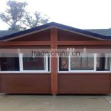 FRSTECH WPC STOCK CO LTD tiny house 12 square meter waterproof anti-UV Stylish WPC House west africa timber logs