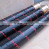 Concrete pump end hose ,factory directly sale with 4 layer steel wire reinforced quality