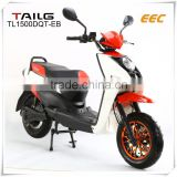 electric scooters dongguan tailg EEC 60v lead-acid battery pack electric motorcycle for sales electric motobike TL1500DQT-EB