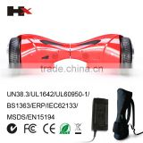 Factory Price 8 Inch 2 Wheel Hoverboard Electric Skateboard Bluetooth Hoverboard Free Shipping