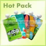 Nice Healthy, Spout Pouch Plastic Drinking Water Bag, Spout Pouch for Fruit Juice, Spout Water Pouch