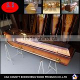 Cardboard Coffin or Eco Paper Casket European Style