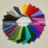 Various colours wool felt for home textile or craft/bright colorful wool felt/thickness 6(ROSH and REACH certification)
