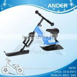 2 in 1 Snow scooter skis/Snow bicycle for kids approved by CE, EN71, ISO8124, SGS, CPSIA, ASTM F963-11