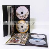 CD Replication Service and Digipak with Booklet