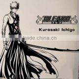 New Kurosaki Ichigo - Bleach Anime Wall Decal Japanese Waterproof Vinyl Multifunction Decorative Sticker OSK029