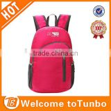 Attractive styles foldable adult school book bag