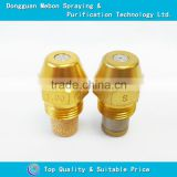 High precision oil burning nozzle,brass oil spraying nozzle