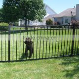 Galvanized steel portable picket residential aluminium fence panels