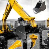 Volvo Excavator Attachment, 0.8M3, 1.4M3 Standard Bucket, Hydraulic Grab, Ripper, Quick Coupler For EC210CL, ECR235CL