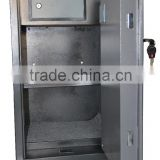 Movable gun steel safe boxes/ fireproof security lock strong metal gun cabinet