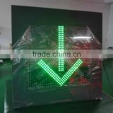 Lane Control Sign/LED Indication Sign easy control hot sell portable led lane sign arrow board driving guide lane sign