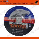 180x3.2x22mm Resin aluminum oxide cutting and grinding wheel for sharpening carbide tools