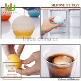 Personalized silicone ice cube tray custom ball shaped ice cube tray for kids - 607