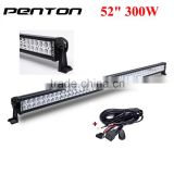 Penton 300w offroad led light bar 52inch 4x4 accessories led light bar for Jeep Wrangler