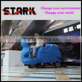 CE Certified Ride on automatic concrete floor cleaning machine with larger water tank