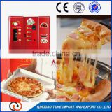 Automatic fresh hot pizza vending machine for heating cooked food