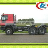 Transportation tractor truck - D'LONG F2000 towing trailer tractor