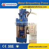 Y83-3150 hydraulic scrap metal chip compactor waste iron briquetting press from China manufacturer