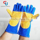 Cow leather gloves Work gloves cow split Working arc-welder's glove