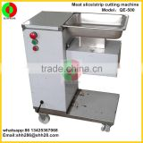 Hot sell stainless steel medium size electric commercial vertical meat cutting machine meat slicer