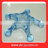 Blue Plastic Star Body Care Small Plastic Massager
