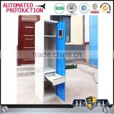Good quality one door storage cabinets metal locker for home bedroom