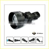 NEW OUT EXCLUSIVE single battery T67 osram black 850nm IR LED torch