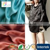 Synthetic leather material 3D embroidery design ladies suit fabric polyester dying chiffon fabric