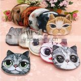 Big Face for Cat Fashion Zipper Coin Wallet Fashion Coin Purses for Cat Change Purse Cute Coin Purse Bag Women Wallets Clutch