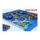 Day Care Centre Indoor Jungle Gym , Indoor Preschool Playground Equipment For Kids  Customized