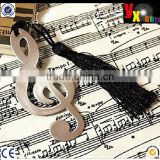 Romantic Music Note Bookmark Novelty Ducument Book Marker Label Stationery