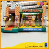 New design safari park theme inflatable toy combo kids playground for sale