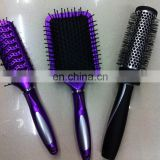 Nice Deisgn 3PCS Set Cosmetic Massage Plastic Hair Brush Wholesale