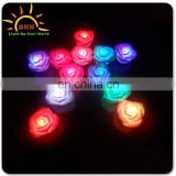 Vinyl material charming LED light up colorful rose for lovers