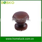 Painted wood knob and wood cabinet knob