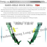 mining machinery Y24 hand held rock drill for sale