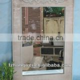 2013 Hongwei Antiquate Wood Mirror&Natural Wood Mirror&Antiquate Wood Decorative Mirror