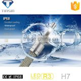 new product New Arrivals car accessories led motorcycle headlight bulb 40w 80w 4800LM R3 h7 auto led light